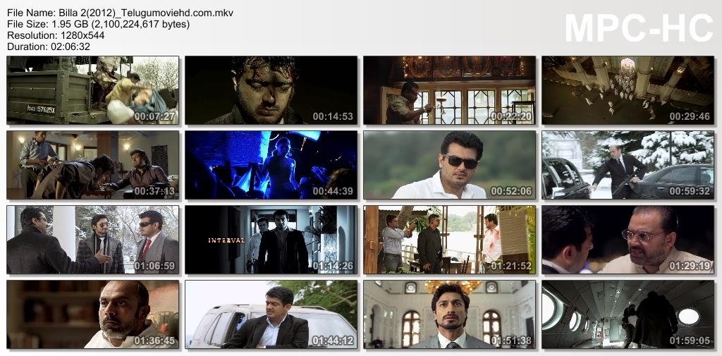 Billa movie || best dialogues about gun's & prabhas escaping scene.